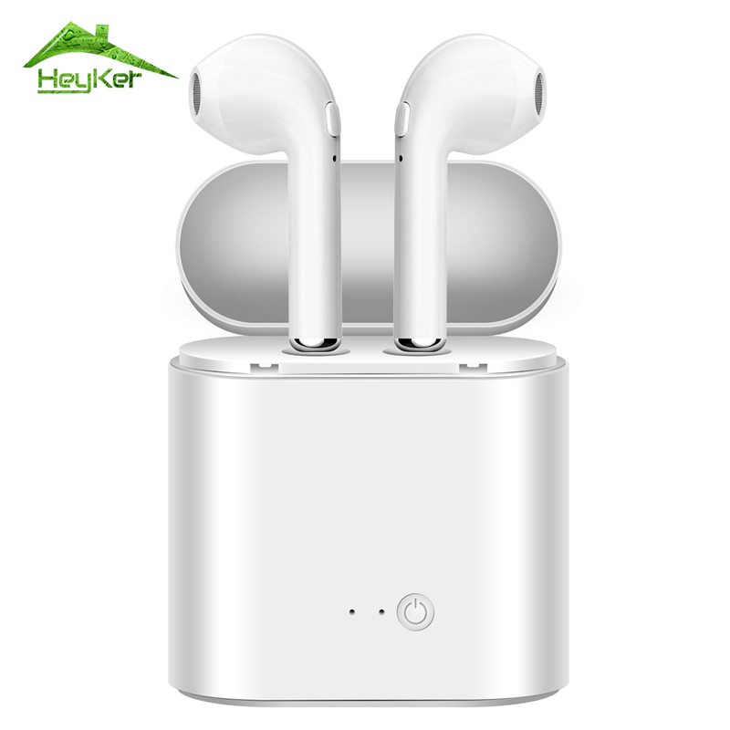 I7 I7S I8 I8X TWS V4.2 True Wireless Earphone Bluetooth Earphones Pair In-Ear Music Earbuds Set For iPhone for Xiaomi Head Phone tws wireless earphones bluetooth earphone pair in ear music earbuds set for apple iphone 6 7 samsung xiaomi sony head phone md1
