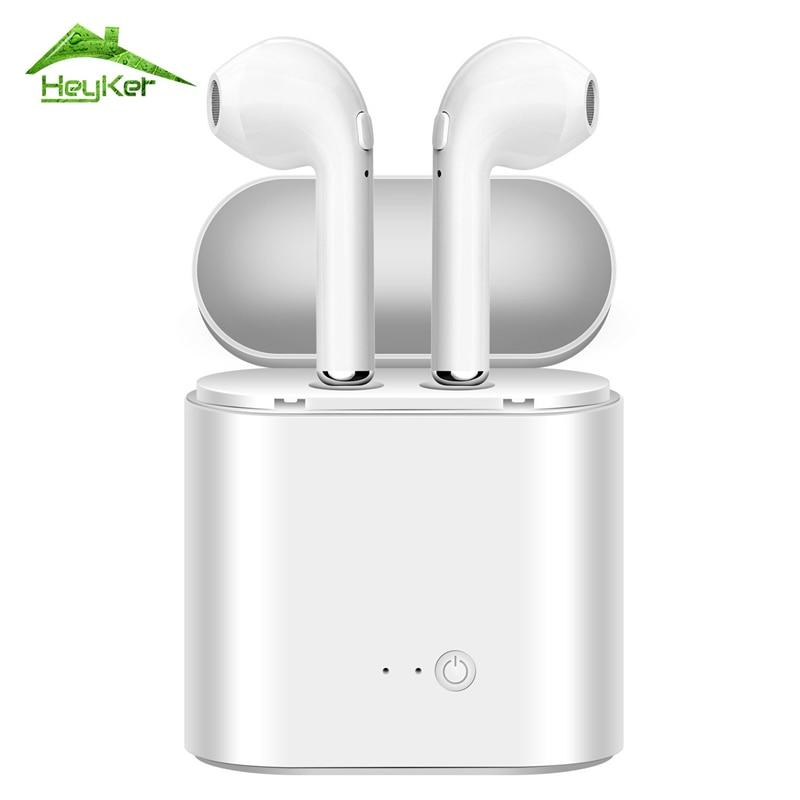 I7 I7S I8 I8X TWS V4.2 Wahre Drahtlose Kopfhörer Bluetooth Kopfhörer Paar In-ohr Musik Ohrhörer Set Für iPhone für Xiaomi kopf Telefon