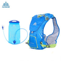 AONIJIE 8L Unisex   Running   Backpack With 1.5L Water Bag For Outdoor Sports