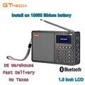 Portátil de Radio profesional GTMedia D1 de Radio DAB + estéreo apoyo para dormir UE Reino Unido con Bluetooth altavoz incorporado