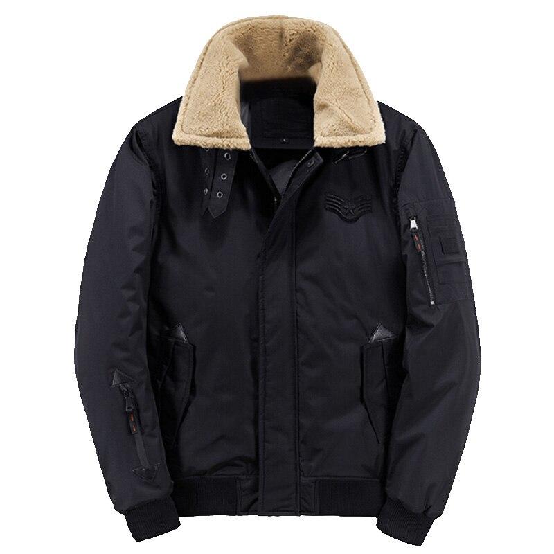 le plus fiable 2019 meilleures ventes comment commander 2018 Nouveau hiver bomber homme volant de fourrure col veste ...