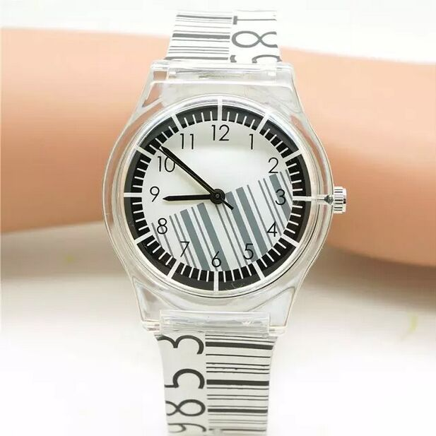 2018 New kids ladies Willis Fashionable Brand Mini Watch Barcode Design Water Re