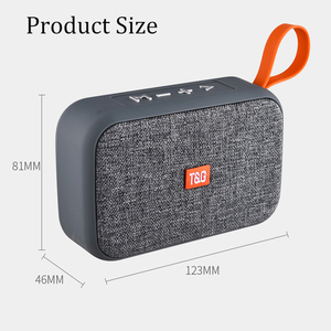 Image 4 - New Mini Portable Speaker Bluetooth Speaker Outdoor Bicycle  Wireless Speaker Mini Column Box Loudspeaker FM TF  Gift