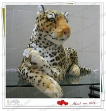 huge lovely animal plush toys imitate leopard stuffed toy doll birthday gift present about 108cm