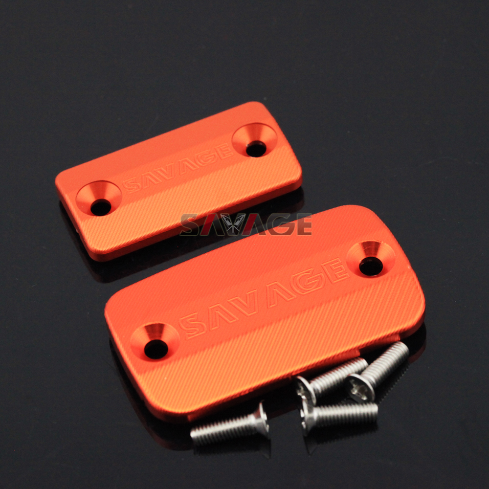 For KTM 690 SMC 2008-2012 Motorcycle Front Brake Clutch Master Cylinder Fluid Reservoir Cover Cap for ktm duke 200 390 690 duke200 690 new pattern orange motorcycle front brake pump fluid reservoir cap cover modified parts