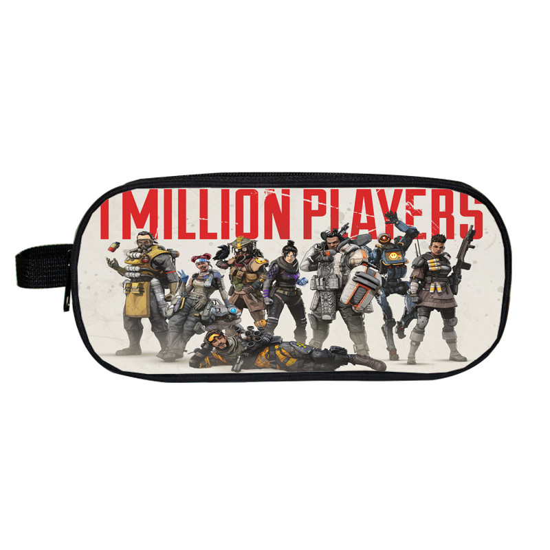 Apex Legends Pencil Case For Girls Boys School Supplies Super Big School Stationery Pencil Box Pencilcase Cosplay Accessories