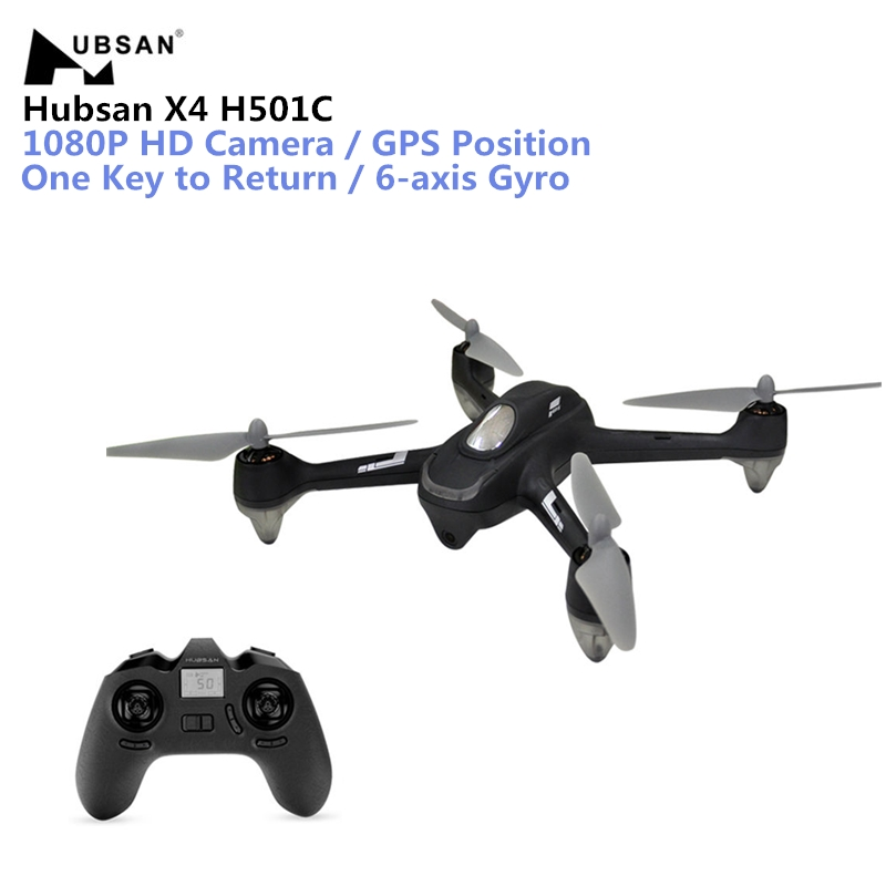 Hubsan X4 H501C Brushless Drone With 1080P HD Camera GPS Altitude Hold Mode RC Quadcopter 2.4GHz 6 Axis Remote Control Dron Toys