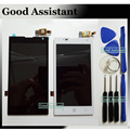 Black/White LCD Display + Touch Screen Digitizer Assembly Replacement For ZTE Blade G Lux / Kis 3 Max V830 V830W Free Tools
