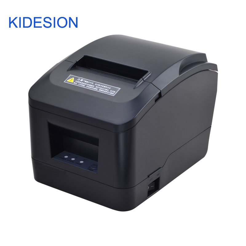 New Arrived  80mm Thermal Pos Printer With Auto Cutter Usb  /  Lan Port  For Supermarkets, Malls