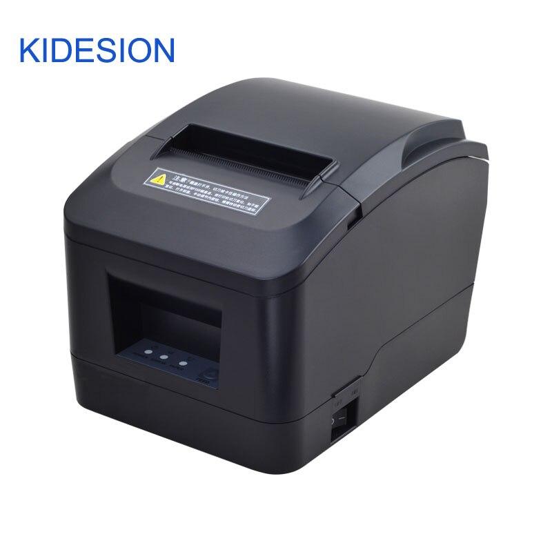 New chegou 80 milímetros Pos impressora Térmica com cortador automático usb/porta lan para Supermercados, shoppings