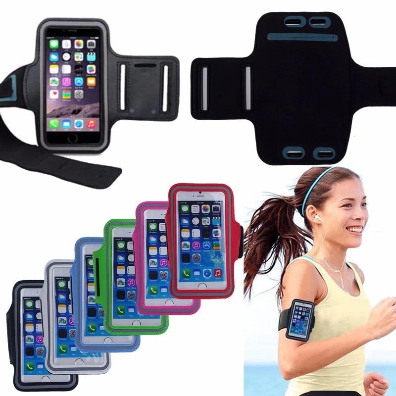 Coque de protection pour Huawei P8 Lite, 5.0-5.7 pouces, étui de Sport avec brassard