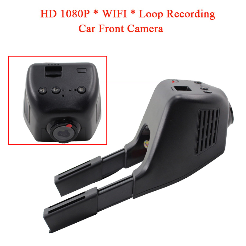 HD 1080P Car DVR Camera Night Vision Front Camera For Car Monitor Recorder 1280*720 GPS record Anti-collision