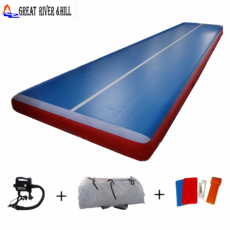 Safety air track tumbling mat inflatable team tumbling air track 7mx2mx20cmSafety air track tumbling mat inflatable team tumbling air track 7mx2mx20cm