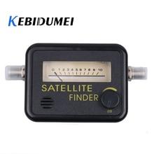 Kebidumei Satellite Finder Tool Meter FTA LNB DIRECTV Signal Pointer SATV Satellite TV satfinder Meter Netzwerk Satellite