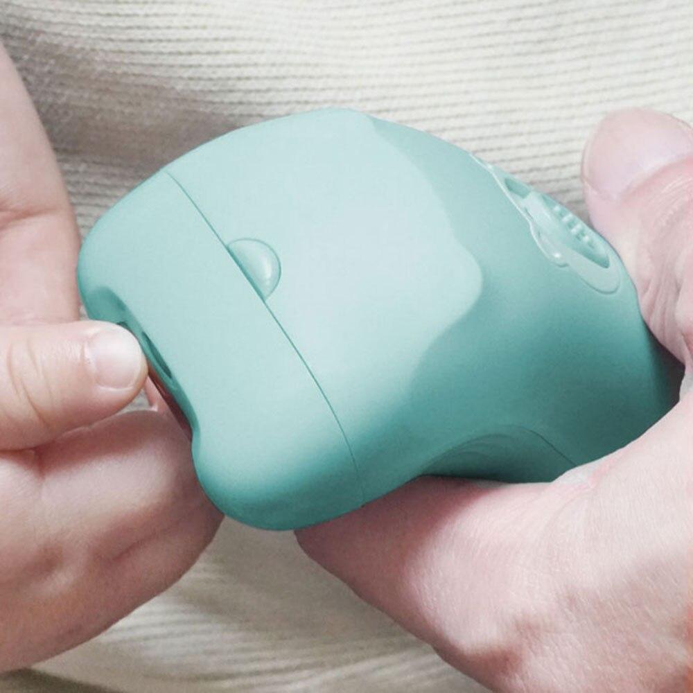 YOUPIN Huanxing coupe-ongles 4 conceptions de protection sûr bébé lime à ongles électrique coupe-ongles pour nouveau-né orteils et ongles