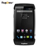Impermeabile telefono cellulare RugGear RG710 GRANDTOUR Sbloccato 5.0 pollici Android smart phone-core NFC Dual SIM Dual Camera 8 GB/1 GB Nero