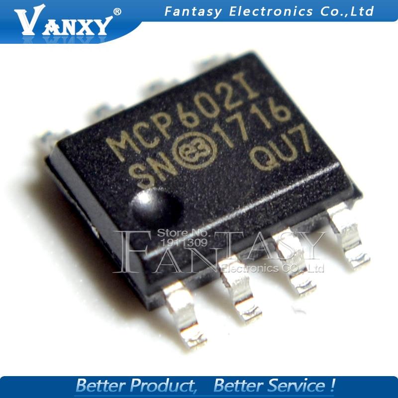 10PCS MCP602 SOP MCP602I SOP-8 MCP602-I/SN SOP8