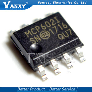 Image 3 - 10Pcs MCP602 Sop MCP602I Sop 8 MCP602 I/Sn SOP8