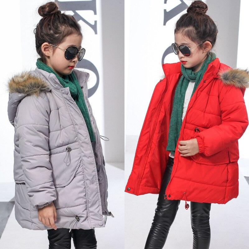2016 yeni sonbahar/kış çocuk ceket bebek kızın aşağı ceket çocuklar ceket parka 3-12 yıl çocuk giyim sıcak ceket 16915