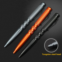 Self Defense Tactical Pen Tungsten Steel Head Self Defense Broken Multi Functional Pen 3 Colors Outdoor