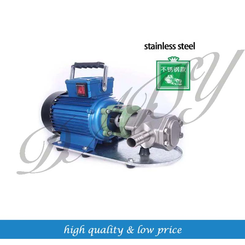 WCB-100p stainless steel portable electric gear oil pump