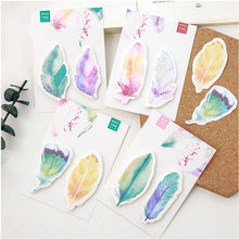 4pcs/lot DIY Sticky Notes Lovely expression Kawaii Memo Pads Sticker Post It Bookmark Marker Flags Planner Briefpapier