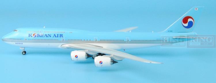 Phoenix Korean Air HL7630 B747-8i Landing Attitude 1:400 Commercial Jetliners Plane Model Hobby