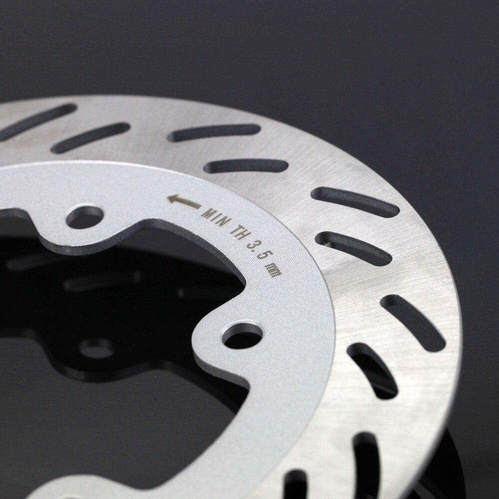 Pour SYM GTS 125 150 250 250i 300i roue avant frein disque Rotor 240mm acier inoxydable moto accessoires - 4