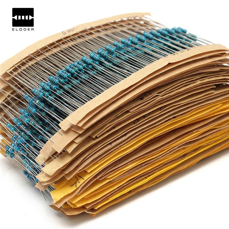 50 capa de metal resistencias 560 Ohm resistencia 1//4 W/' 0,25w