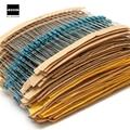 2600 pcs 130 Valores 1/4 W 0.25 W 1% Metal Film Resistores Assorted Kit Pacote Conjunto Lote Resistores sortimento Kits de capacitores Fixos