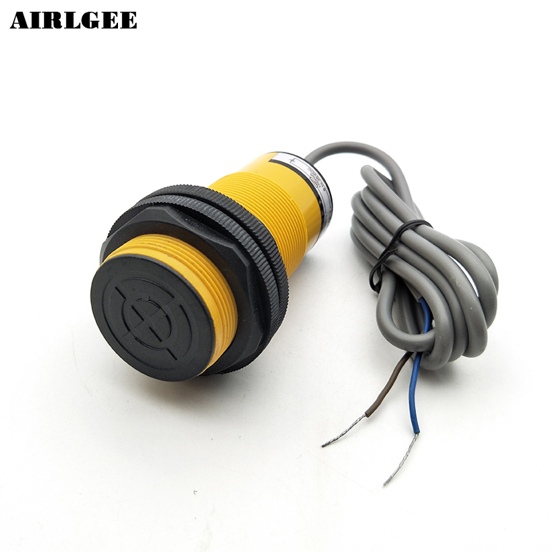 2 Wires NO 18mm Detection Distance Inductive Sensor Proximity Switch LJ38A4-18-Z/EX 30mm capacitive proximity sensor switch nc 25mm detection distance ljc30a3 h j dz 2 wire ac90 250v mounting bracket