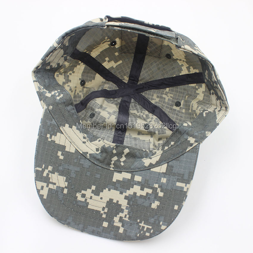 army patrol camouflage baseball cap tactical polyester cotton acu camo