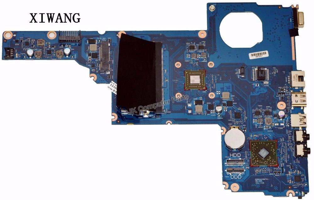715890-501 Livraison Gratuite POUR HP 2000 CQ45 2000-2B ordinateur portable carte mère 6050A2498701 MB-A02 E1-1500 CPU 715890-001