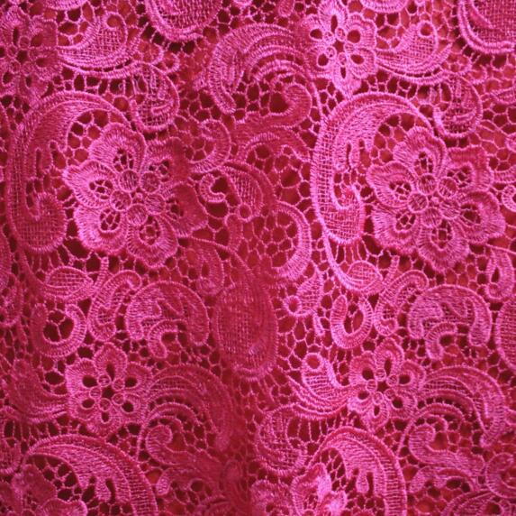 5Yards White Nigerian Lace Fabrics For Wedding Dress Red Blue African Cord Lace Fabrics High Quality