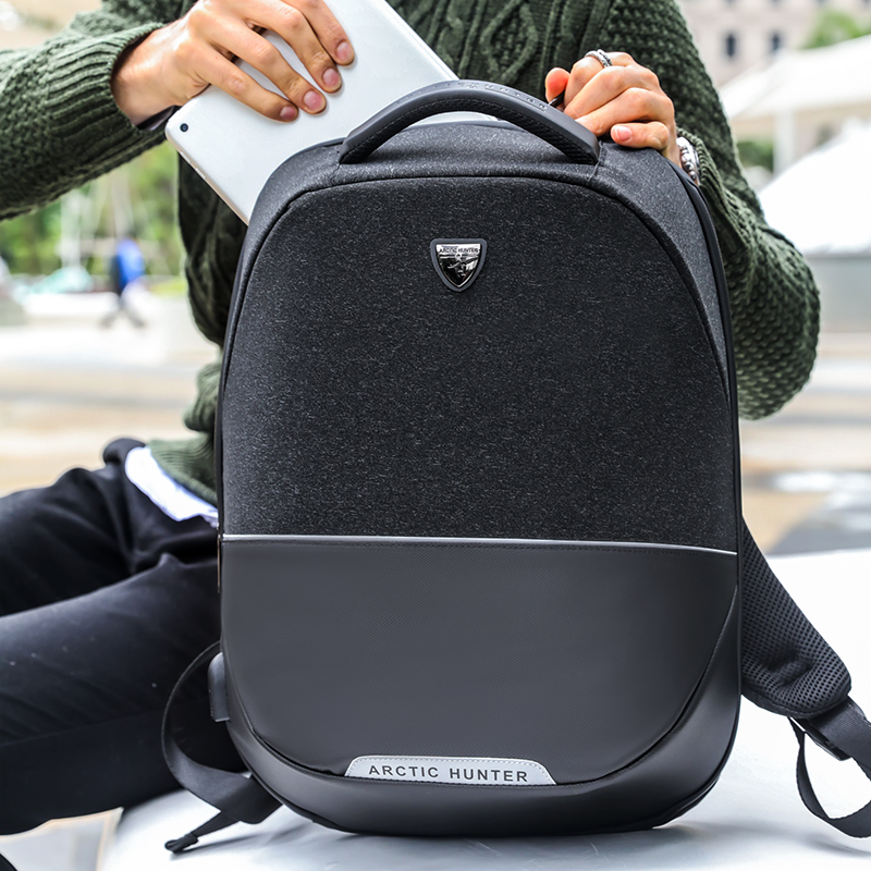 ARCTIC HUNTER  Business Travel USB Backpack Men Anti-theft 15inch Laptop backpack men's Casual Back pack bag Women  B00216 кусачки для ногтей 1056 men b 15 мм