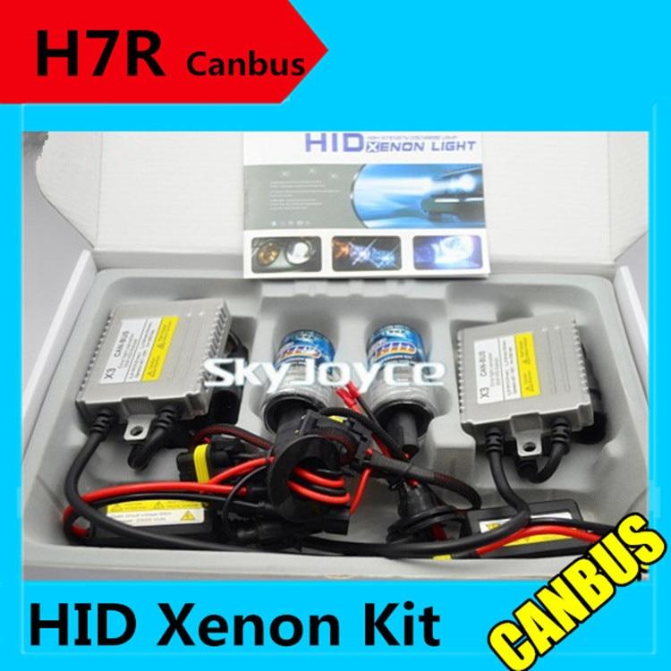 Freeshipping H7R metal base 35W 12V hid canbus kit  H7R xenon hid kit error free ballasts H7R canceller headlight coating layer пуловер с круглым вырезом и вышивкой molly bracken