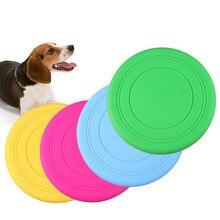 Komik Pet köpek oyuncak küçük büyük köpekler için interaktif plastik köpek oyuncak uçan diskler Honden Speelgoed köpek malzemeleri evcil hayvanlar için köpekler