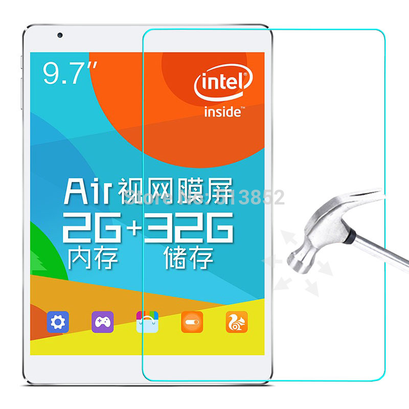 9H Tempered Glass For Teclast X98 Pro / X98 Plus / X98 Air II III / 9.7 Inch Prevent Scratch Tablet PC LCD Screen Protector Film