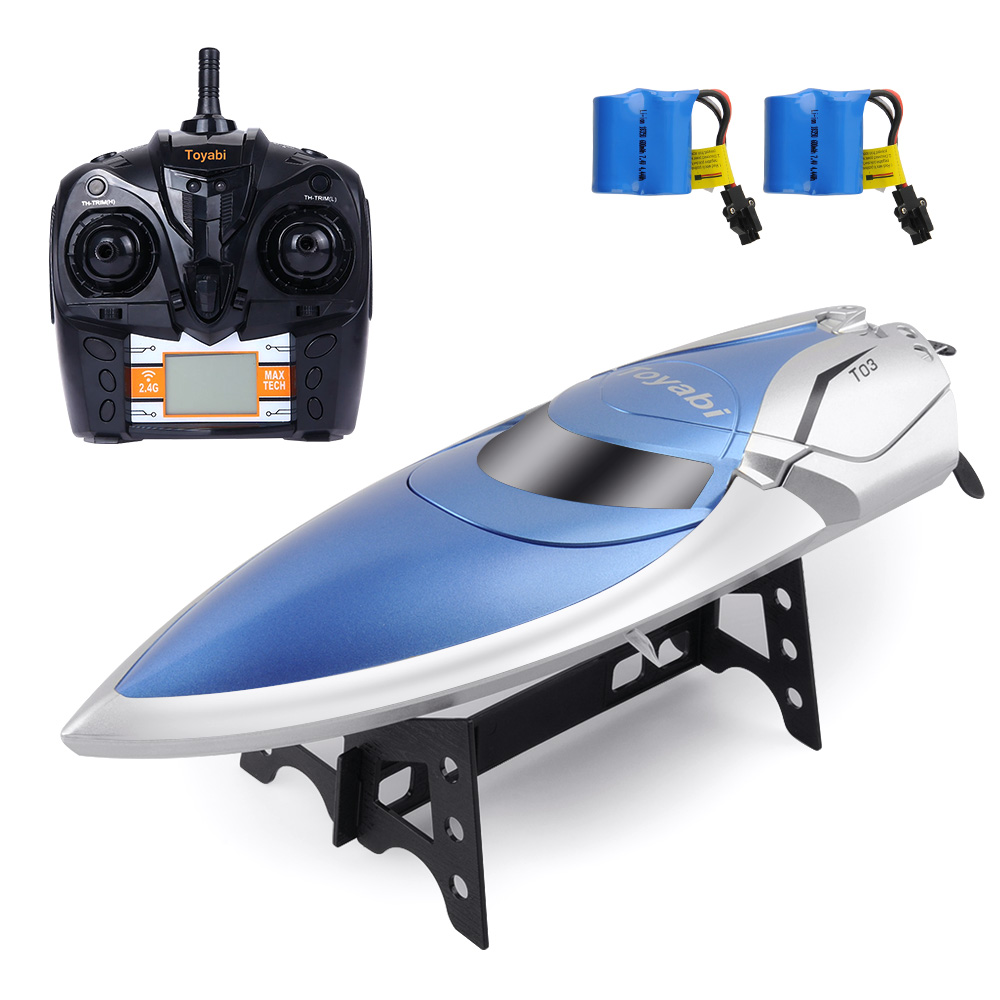 High Speed 30KM H RC Boat 4CH 2 4GHz 4 Channel Racing Remote Control Racing Boat