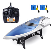 High Speed 30KM/H RC Boat 4CH 2.4GHz 4 Channel Racing Remote Control Racing Boat Fishing Boat Toys for Children Hobbies Gifts
