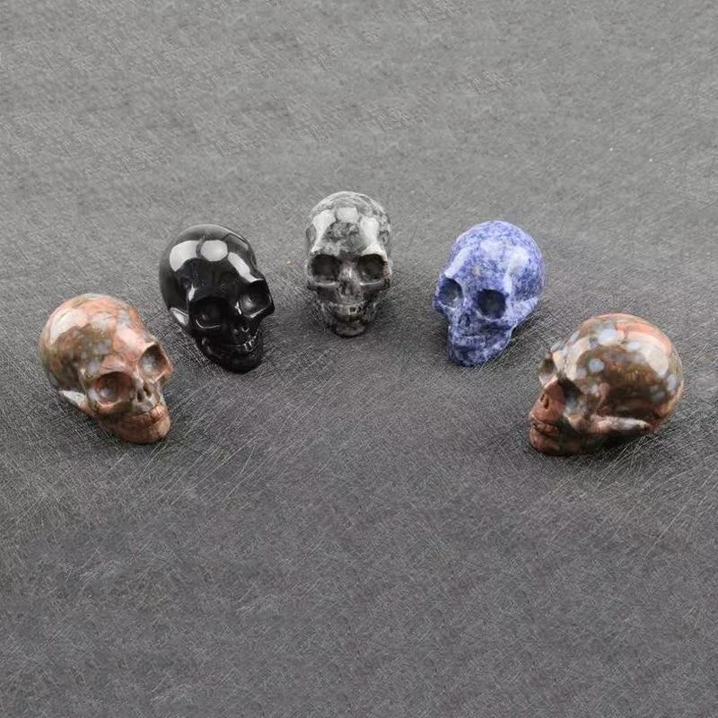 Pure carved cranium crystal cranium gem artwork assortment or dwelling ornament 1pieces 7sk lls 25mm dwelling ornament equipment Collectible figurines & Miniatures, Low cost Collectible figurines & Miniatures, Pure...