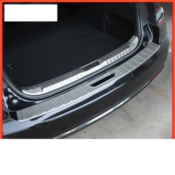 lsrtw2017 stainless steel car trunk protective panel for lincoln continental 2017 2018 2019