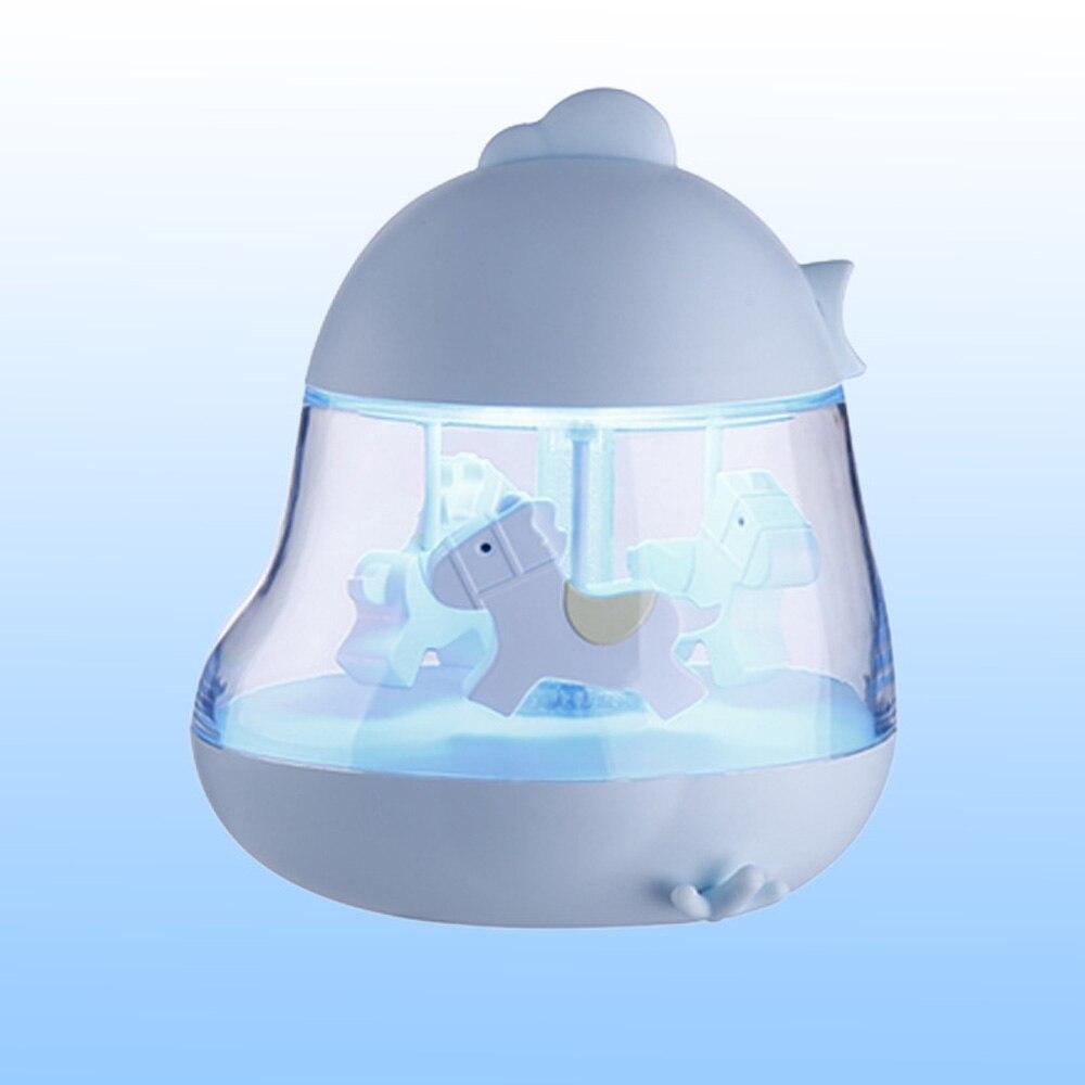 Музыкальная карусель светлая игрушка музыкальная шкатулка Карусель круглые цветные светодиодные лампы конский карусель Свадьба романтический подарок на день рождения