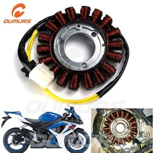 OUMURS Motorcycle Magneto Stator Coil Aluminum For Suzuki GSXR 600 GSX R 750 2006 2016 Generator K6 K8  Motorbike Accessories Ignition Coil    -