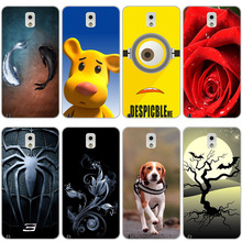 TPU Soft Print Phone Case for Samsung Galaxy Note 3 III N9000 N9005 N9006 Soft Silicone Back Cover Case Painted Pattern Rose