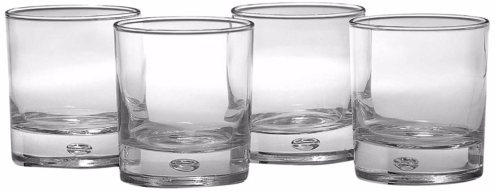 Heavy Base Old Fashioned Glasses