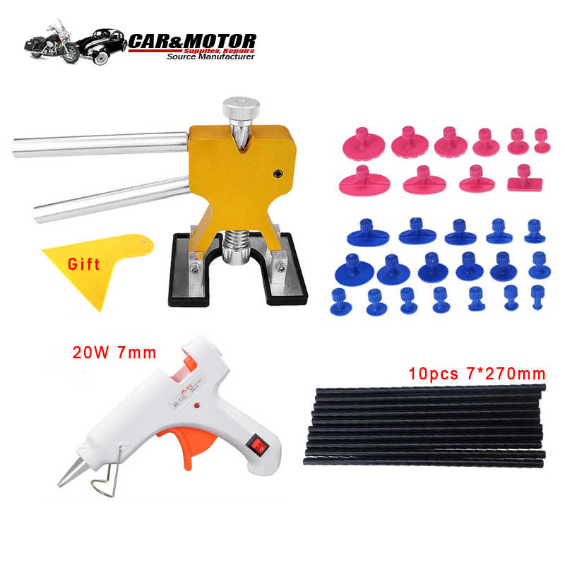 Repair Dent Car Hand Tool Sets Tool Set To Work Wood Dent Lifter Toosl Practical Hardware Cars Repair Extractor Removal Hail Tab