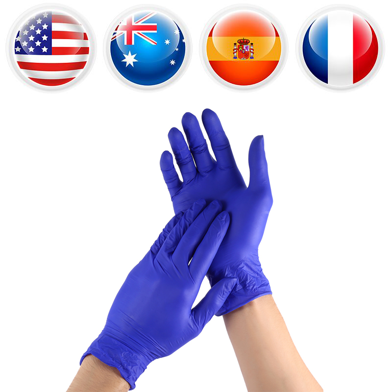 50Pairs/Lot Disposable Gloves Non Latex Home Kitchen Cleaning Food Household Disposable Gloves Universal L