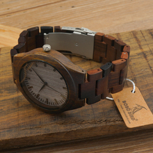 BOBO BIRD H05 Men's Designer Watches Bamboo Wood Luxury Brand With Wood Strap Analog Men Dress Watch With Japanese Movement