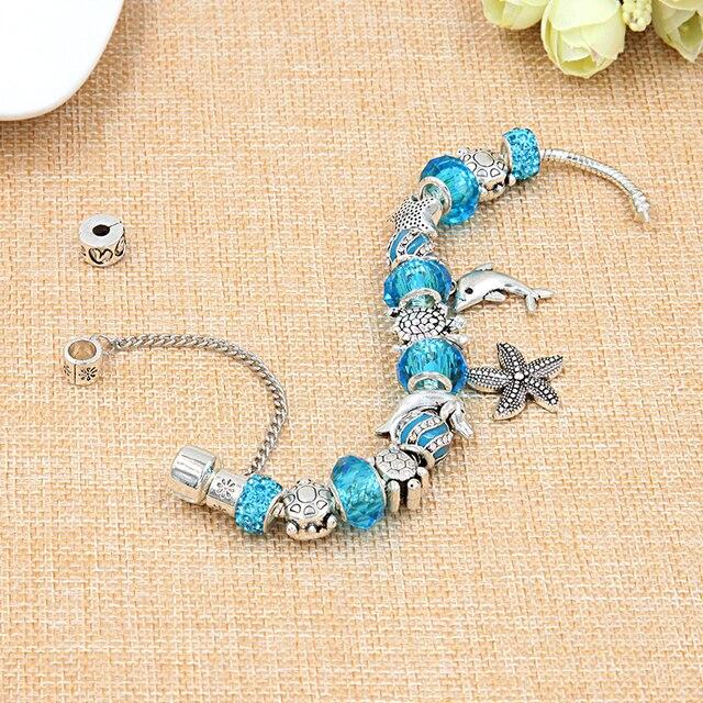 Купить новый тибетский серебряный браслет с подвеской в виде черепахи